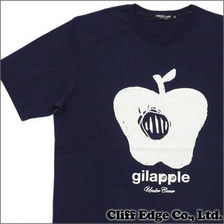 UNDERCOVER(アンダーカバー) gilapple Tシャツ NAVY 200-004056-067x【新品】