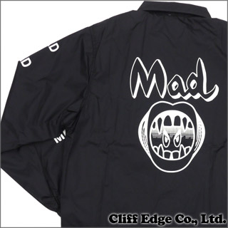 [SUMMER SALE!! 세일 대상 상품] UNDERCOVER (언더 커버) MAD-M COACH JACKET (코치 자 켓) BLACK 225-000225-041x