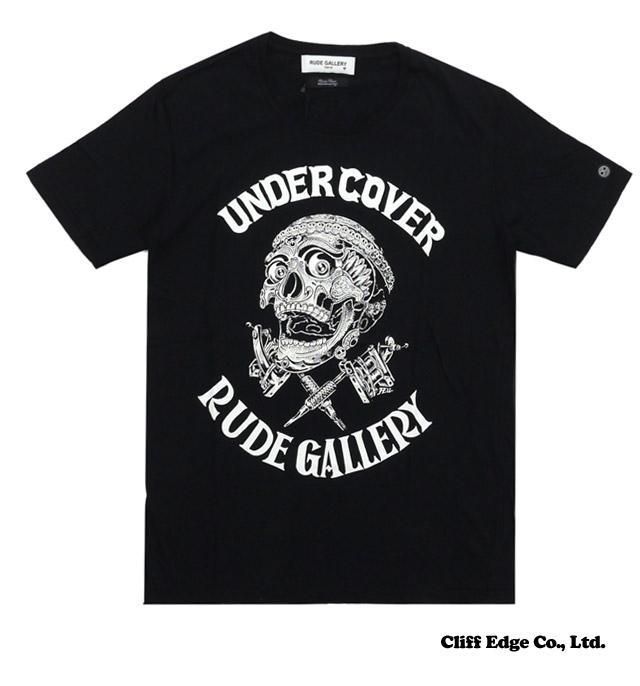 UNDERCOVER (언더 커버) x RUDE GALLERY (루드 갤러리) x MAGICAL DESIGN (マジカルデザイン) Tibetan Skull TEE (T 셔츠) BLACK 200-006727-531 +