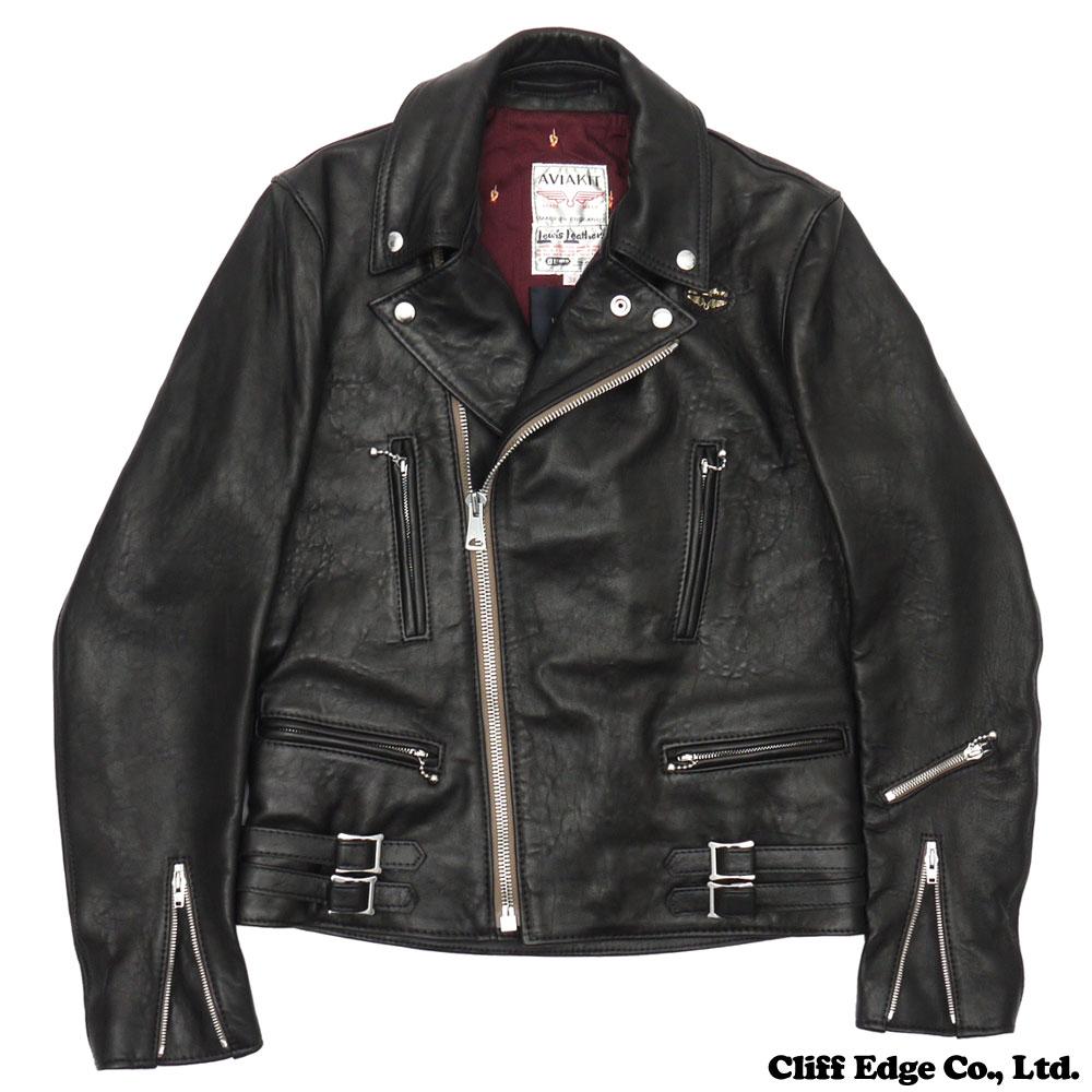 UNDERCOVER x LEWIS LEATHERS (1960) 230-000945-701 BLACK LIGHTNING FF (jacket) +