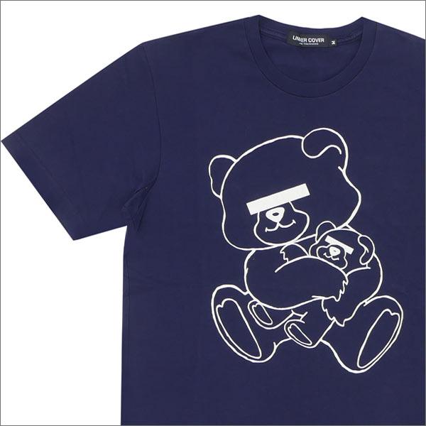 UNDERCOVER(アンダーカバー) NEU BEAR Tシャツ NAVY 200-004825-049x【新品】