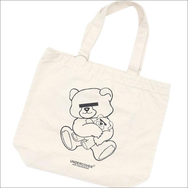 UNDERCOVER(アンダーカバー) BEAR Mini Tote Bag (トートバッグ) IVORY 277-002278-010x【新品】