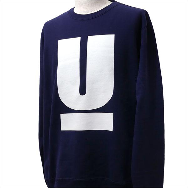 UNDERCOVER(アンダーカバー) U SWEAT (スウェット) NAVY 209-000478-547x【新品】