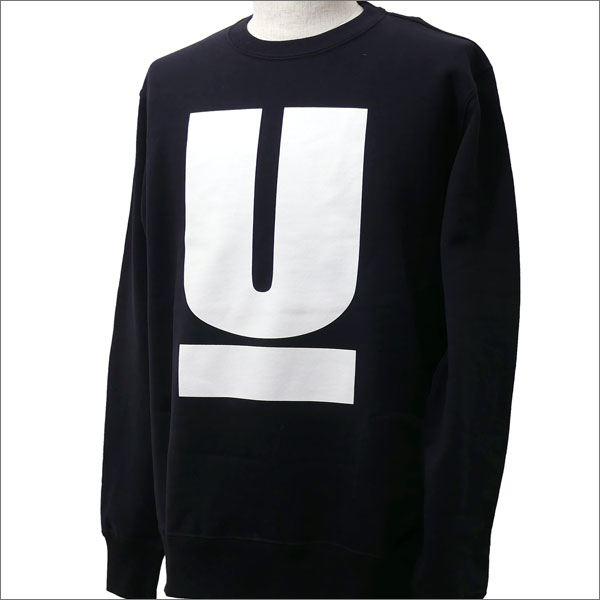 UNDERCOVER(アンダーカバー) U SWEAT (スウェット) BLACK 209-000478-531x【新品】