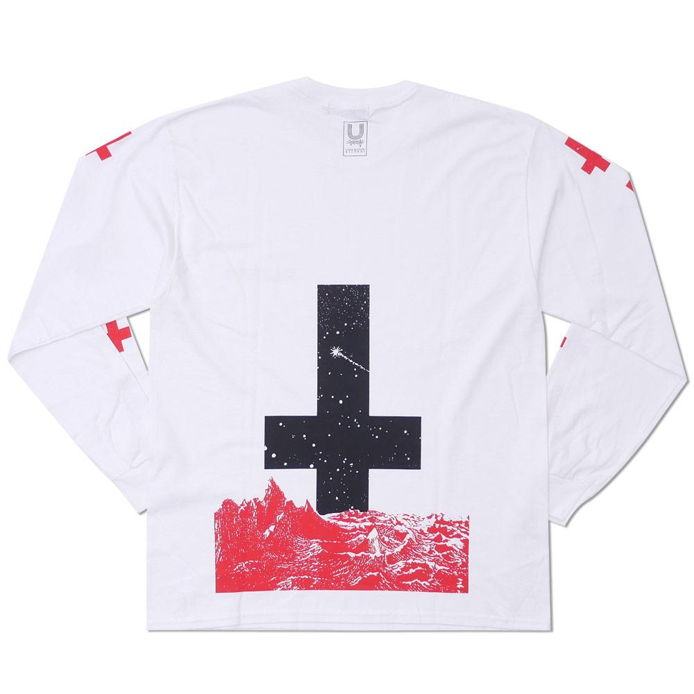 UNDERCOVER(은밀) THE SPACE NURSE L/S TEE (긴소매 T셔츠) WHITE 202-000868-050 x
