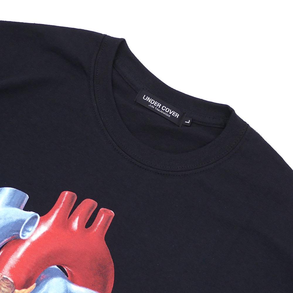 UNDERCOVER(은밀) THE ORGANS TEE (T셔츠) BLACK 200-007485-051 x