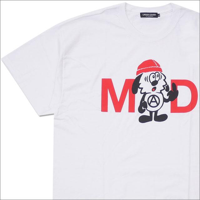 アンダーカバー UNDERCOVER x VERDY ヴェルディ MAD FUCK TEE Tシャツ WHITE 417000038040 【新品】 Girls Don't Cry ガールズドントクライ WASTED YOUTH ウェイステッド ユース