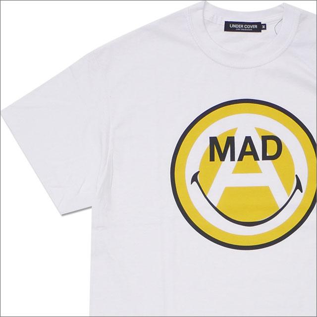 UNDERCOVER(アンダーカバー) x VERDY(ヴェルディ) MAD SMILE CIRCLE A TEE (Tシャツ) WHITE 417-000039-040+【新品】 Girls Don't Cry(ガールズドントクライ) WASTED YOUTH(ウェイステッド ユース)