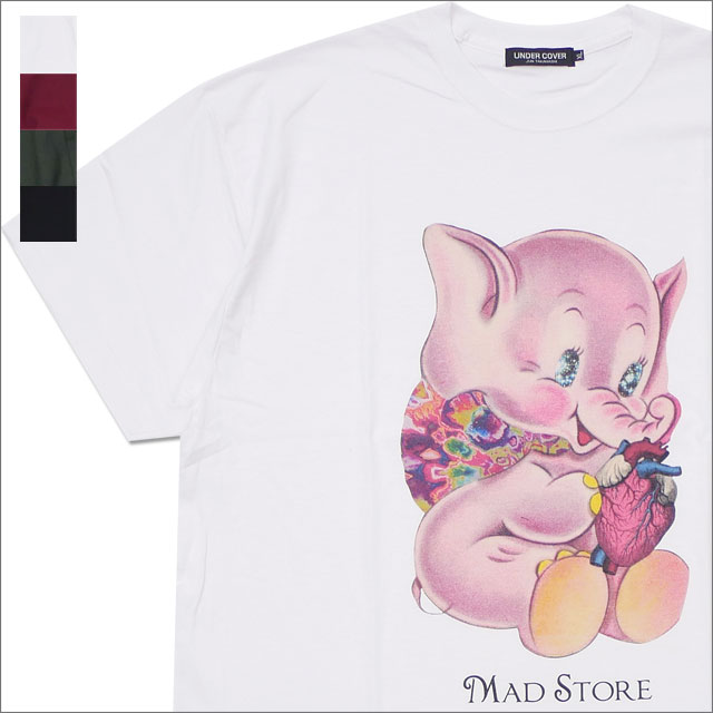 UNDERCOVER(アンダーカバー) MADELEPHANT TEE (Tシャツ) 200-007869-030x【新品】