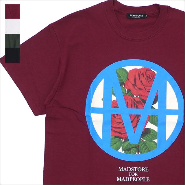 【サマーセール2018!! 7/30(月) 20:00~販売開始!!】 UNDERCOVER(アンダーカバー) MADCIRCLE ROSE TEE (Tシャツ) 200-007870-030x【新品】