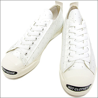UNDERCOVER (under cover) サテンドット Jack Purcell WHITE