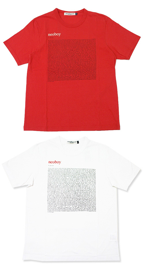 UNDERCOVER(은밀) NEOBOY T셔츠200-001995-520