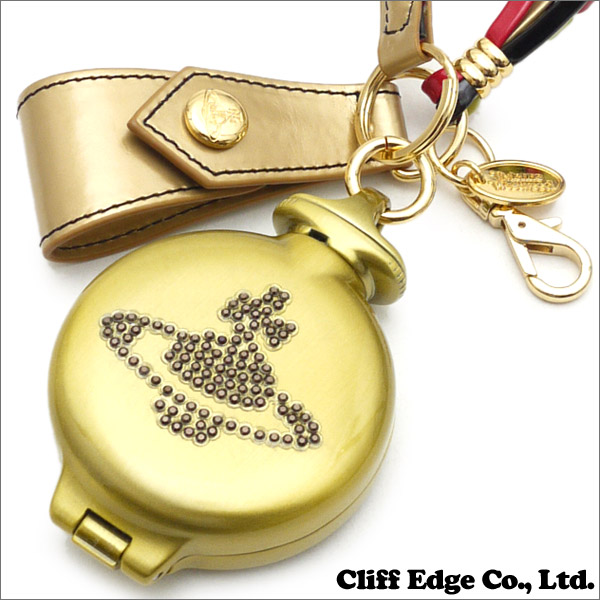 Vivienne Westwood (ヴィヴィアン・ウエストウッド) ラインストーンORB Portable ashtray (携帯灰皿) GOLD 290-003626-018x【新品】