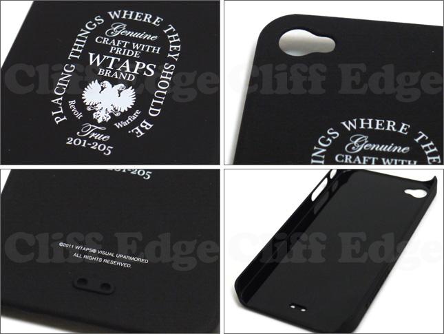 (W)TAPS(다브르탑스) BUMPER iPhone CASE 290-001699-010-