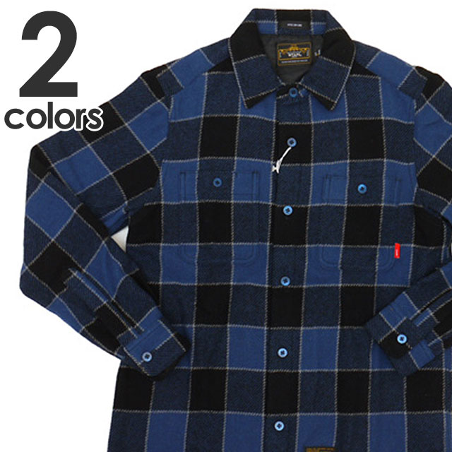 WTAPS UNION L/S SHIRTS. [長袖シャツ] 216-000928-037-【新品】411-008277-057