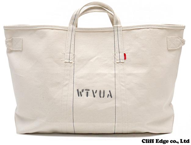 (W) TAPS x RAREGEM TOTE BAG. M BAG. [토트 백] OFF WHITE 277-001852-010-