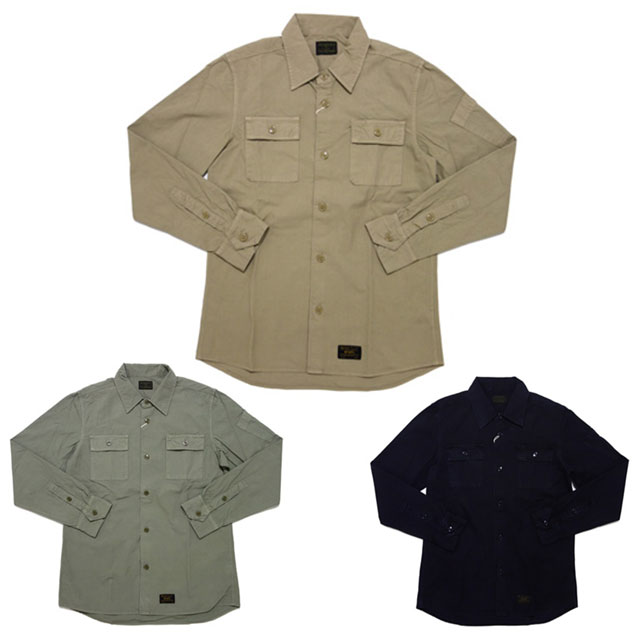 (W)TAPSTRAD L/S SHIRTS.COTTON.WEATHER [長袖シャツ] 216-001020-036-【新品】