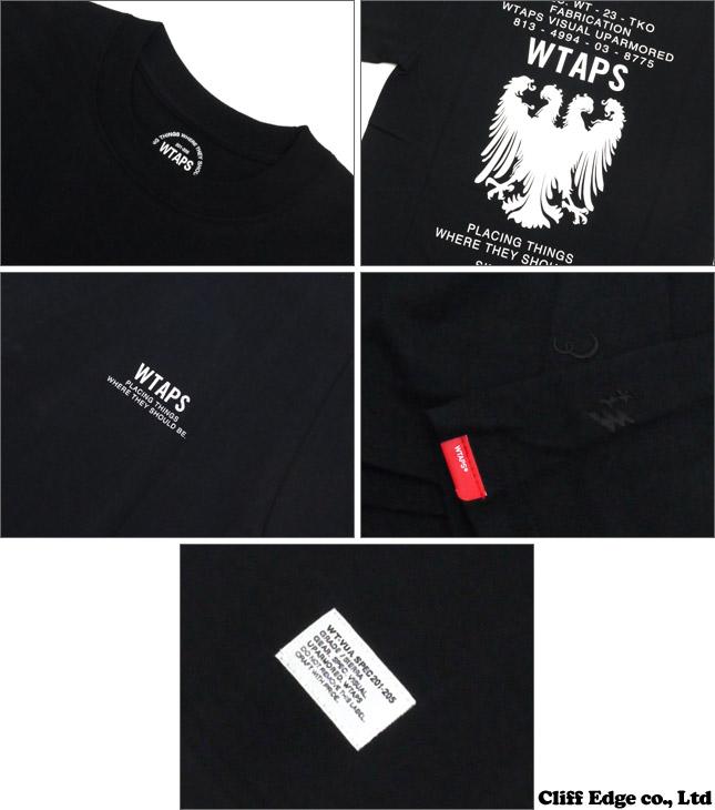 WTAPS HERALDRY TEE(T恤)200-005727-031-