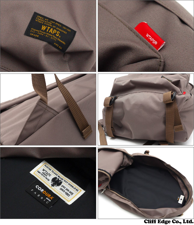 WTAPS BOOK PACK/BAG. POLYESTER. CORDURA (가방) (가방) BEIGE 276-000193-000x