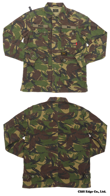 WTAPS JUNGLE L/S SHIRTS.COTTON.DPM (긴소매 셔츠) DPM TROPICAL 216-001192-000-