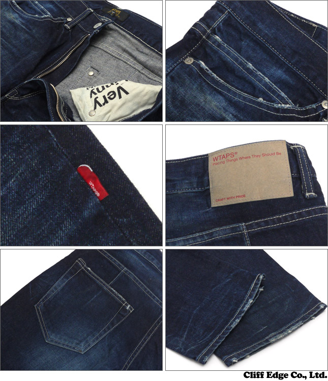 WTAPS (ダブルタップス) BLUES. VERY SKINNY. TRASH TROUSERS. COTTON. DENIM. TRASH (데님) 240-001276-000x