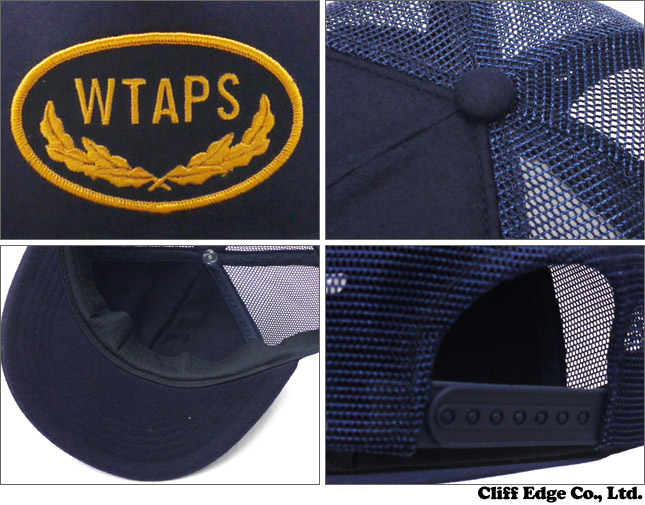 WTAPS(다브르탑스) MILITIA 03 CAP.POLYESTER (캡) NAVY 251-000846-000-