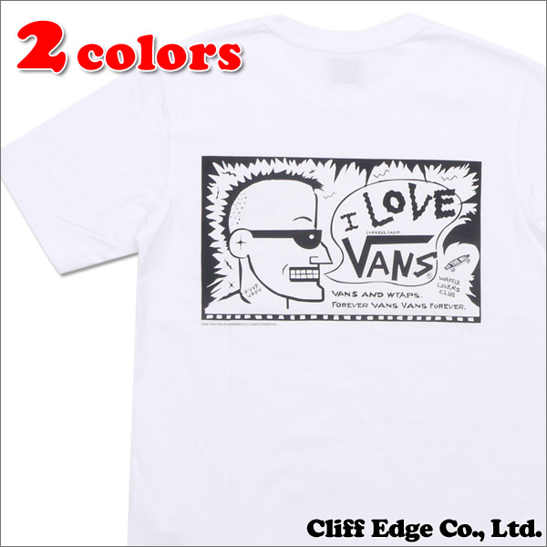 WTAPS(ダブルタップス) x VANS VAULT(バンズ ヴォルト) DESIGN SS 04 TEE COTTON.VANS (Tシャツ) 200-006700-031+【新品】