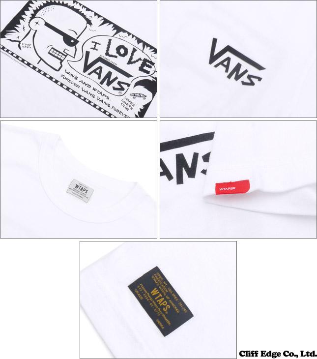 WTAPS (ダブルタップス) x VANS VAULT (빵 볼트) DESIGN SS 04 TEE COTTON. VANS (T 셔츠) 200-006700-031 +