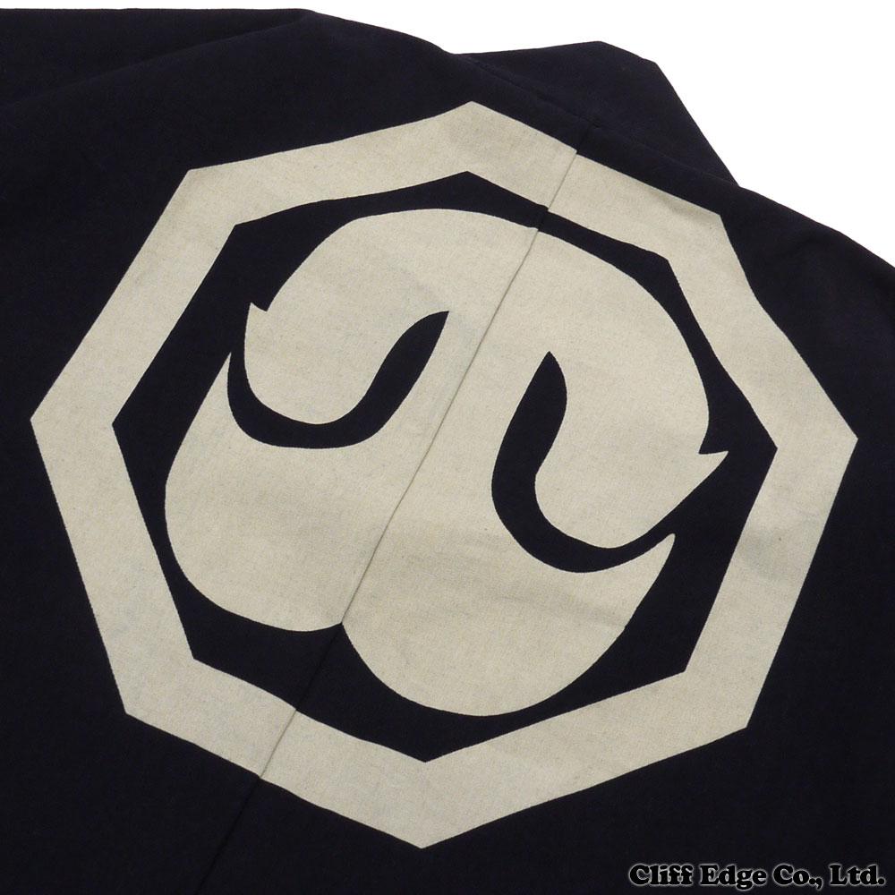 WTAPS daburutappusu 汉滕夹克。 棉花。 工装裤。 230-000944-017 靛蓝 GIP (背心) +