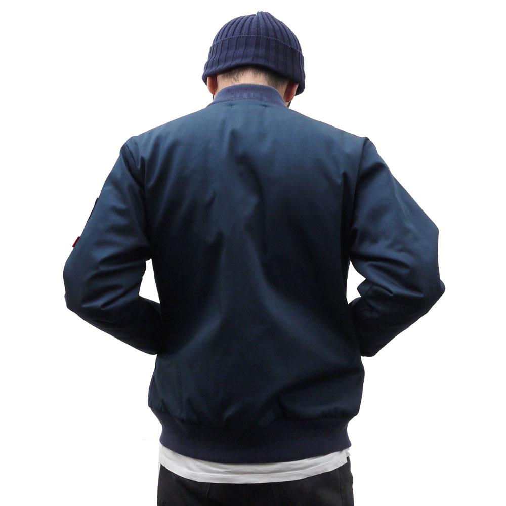 WTAPS UNION JK (jacket) NAVY 230-000961-037-