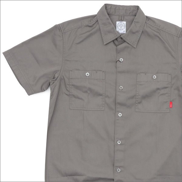 WTAPS UNION SS 01 (short sleeve shirt) 215-001245-047-
