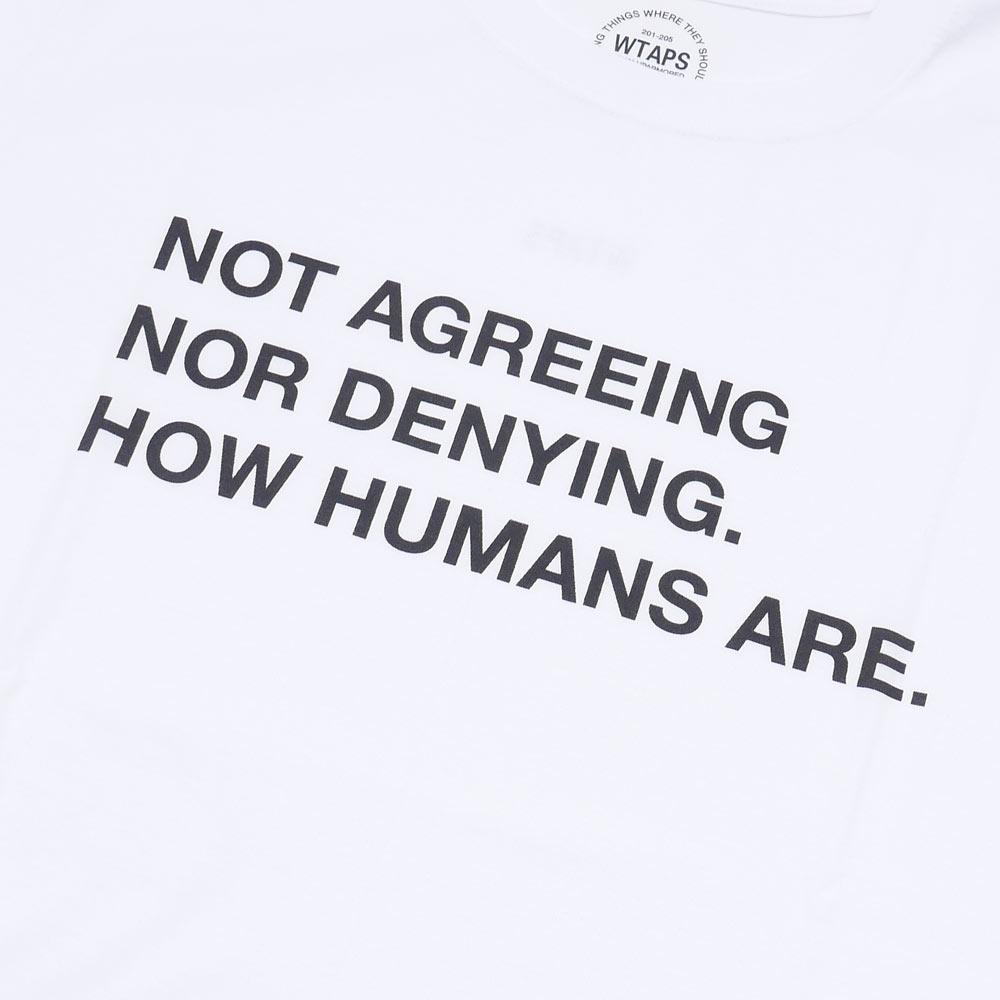WTAPS (ダブルタップス) HUMANS TEE (T 셔츠) 200-007054-031-