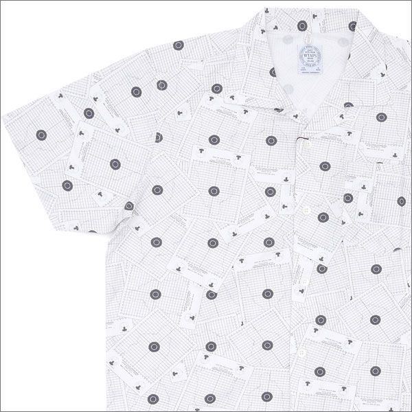WTAPS (다브르탑스) TEXTILE SS (반소매 셔츠) WHITE 215-001259-040-