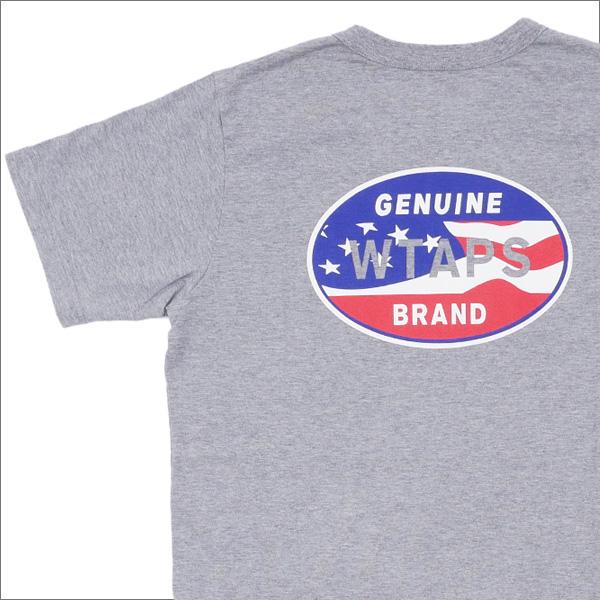 Ron Herman (ロンハーマン) x WTAPS (ダブルタップス) DESIGN SS 08 TEE (Tシャツ) GRAY 200-007122-032+【新品】