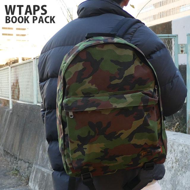 WTAPS (ダブルタップス) BOOK PACK (배낭) WOODLAND CAMO 276-000242-015 +