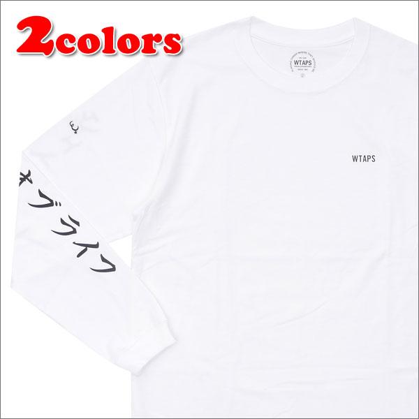 WTAPS (다브르탑스) WORKER/TEE.LS (긴소매 T셔츠) 202-000821-037-