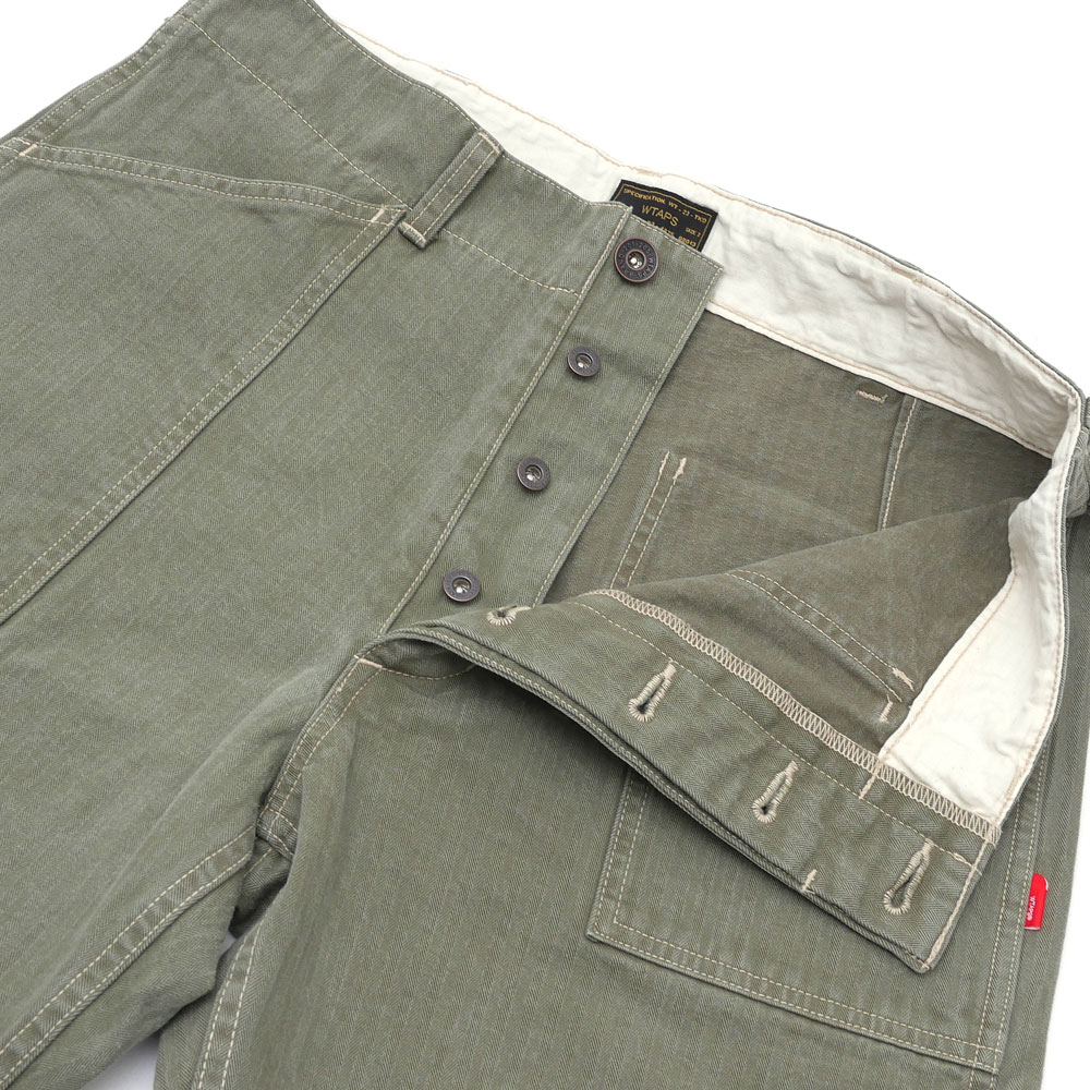 WTAPS (다브르탑스) BUDS 01/TROUSERS.COTTON.HELL IN BONE (팬츠) 162 LTDT-PTM02 249-000548-045-