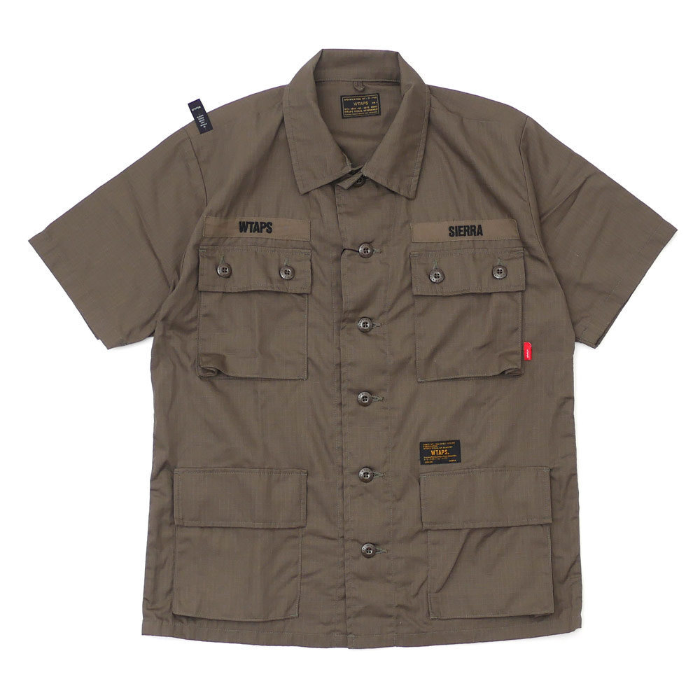 WTAPS (다브르탑스) JUNGLE SS/SHIRT (반소매 셔츠) 171 LTDT-SHM01 215-001270-035-