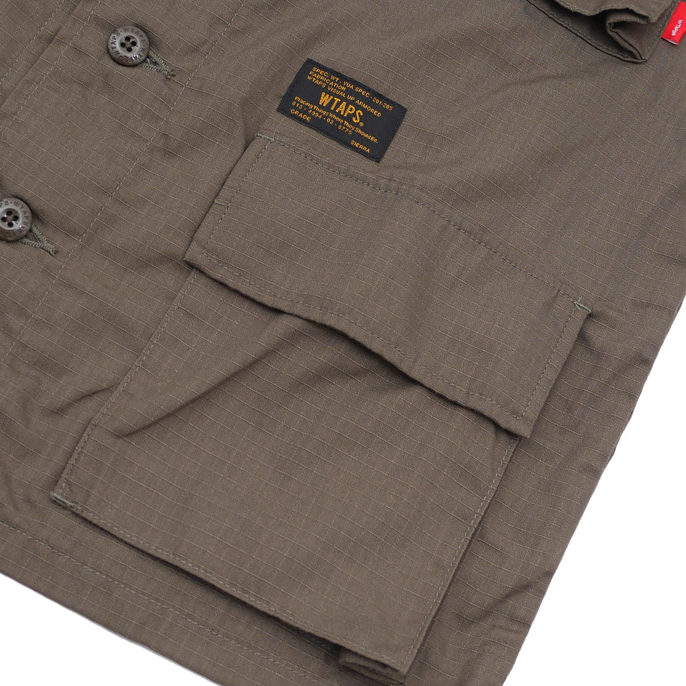 WTAPS(双发快射)JUNGLE SS/SHIRT(短袖衬衫)171LTDT-SHM01 215-001270-035-