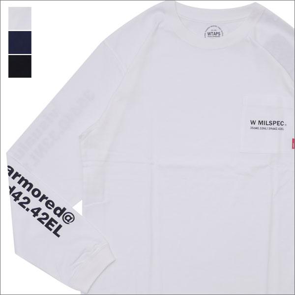 WTAPS (ダブルタップス) W MIL/SCREEN LS TEE (長袖Tシャツ) 172ATDT-LT01S 202-000909-051-【新品】