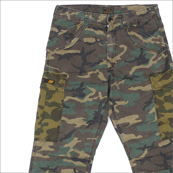 WTAPS (ダブルタップス) x A BATHING APE (エイプ) CARGO TROUSERS (カーゴパンツ) 172GWAPD-PTM01S CAMOUFLAGE 241-000095-055-【新品】
