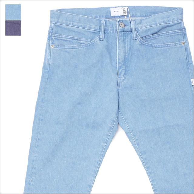 WTAPS (ダブルタップス) BLUES V S TRASH TROUSERS (デニムパンツ) 181WVDT-PTM02 240-001433-052-【新品】