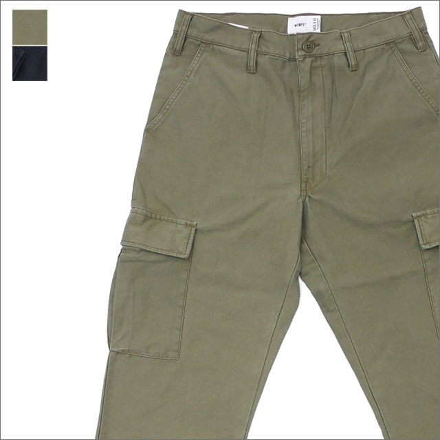 WTAPS (ダブルタップス) STOCK TROUSERS (カーゴパンツ) 181GWDT-PTM01 241-000098-035-【新品】