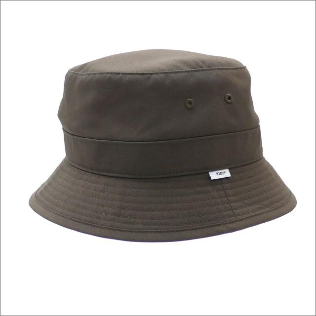 WTAPS (ダブルタップス) BUCKET HAT (ハット) 181HCDT-HT02 OD 252-000369-055-【新品】