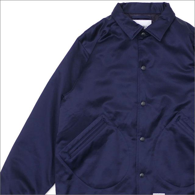 WTAPS (ダブルタップス) COACH JACKET (ジャケット) 181TQDT-JKM01 NAVY 230-001082-047-【新品】
