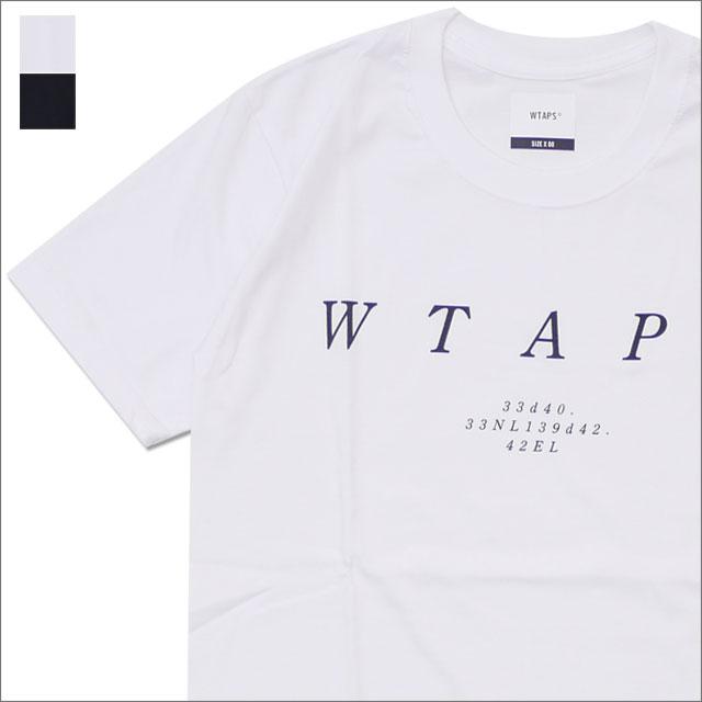 WTAPS (ダブルタップス) SYSTEM 02 (Tシャツ) 181PCDT-ST04S 200-007848-020-【新品】