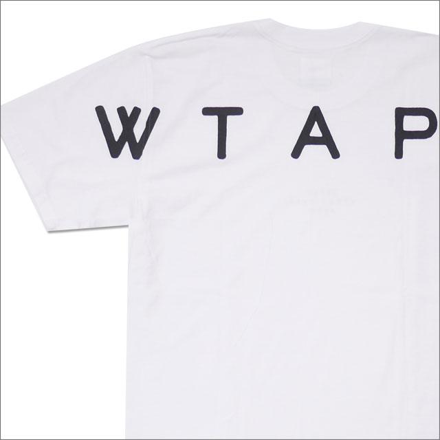 WTAPS (ダブルタップス) PEACE TEE (Tシャツ) 181PCDT-ST07S WHITE 200-007883-040+【新品】