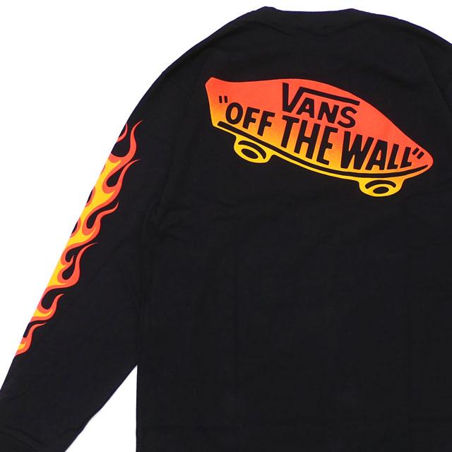 de28538c55caf7 WTAPS (double taps) x VANS VAULT (vans) DESIGN LS TEE  FLAME (long sleeves  T-shirt) ORANGE 181BWVND-CSM03S 202-000963-059-