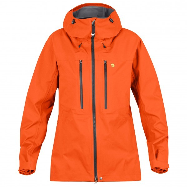 FJALLRAVEN フェールラーベン Bergtagen Eco-Shell ジャケット レディース(Hokkaido Orange)