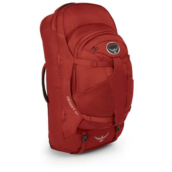 オスプレー ファーポイント 55 Farpoint 55 (Jasper Red)★リュック・バックパック・登山・山歩・トレッキング★